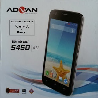 Hard Reset & Factory Reset Advan S45D