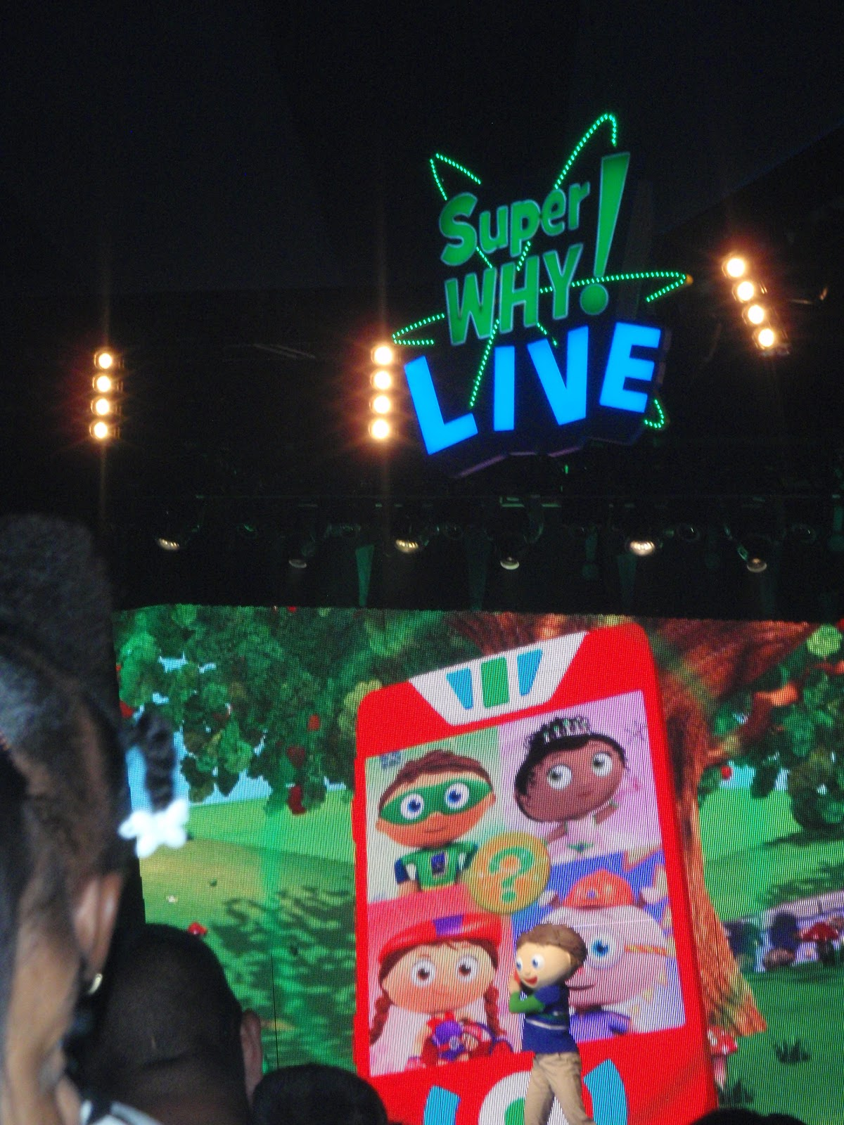 SuperWhy Live Tour- A Review - Babushka's Baile