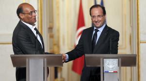 """HOLLANDE -  Obligation de réussite"""" pour la démocratie tunisienne"""