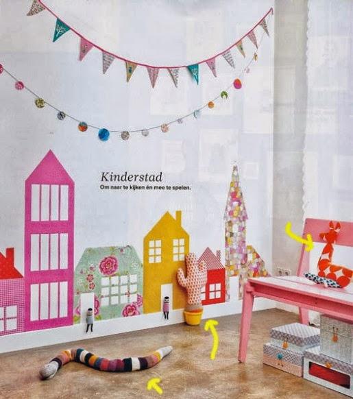 Kinderkamer inspiratie only handmade loves - Versieren kinderkamer ...