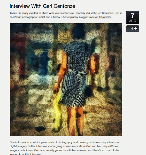 Interview with Geri Centonze