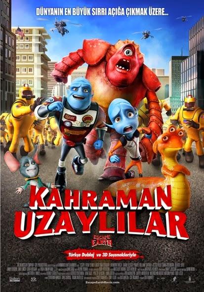 Kahraman Uzaylılar – Escape from Planet Earth (2013) tek part hd izle |1080p-720p HD türkçe dublaj filmler izle