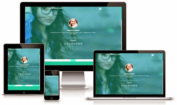 Authorism Responsive Blogger Template