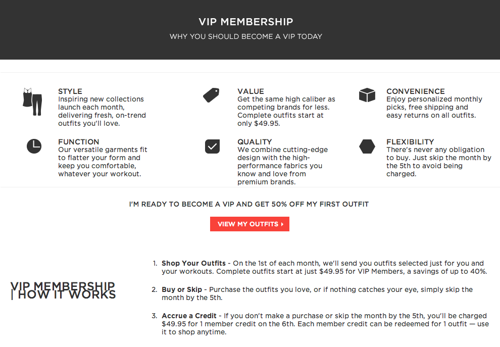 Bp Rewards Card >> Subscription Boxes: About Fabletics