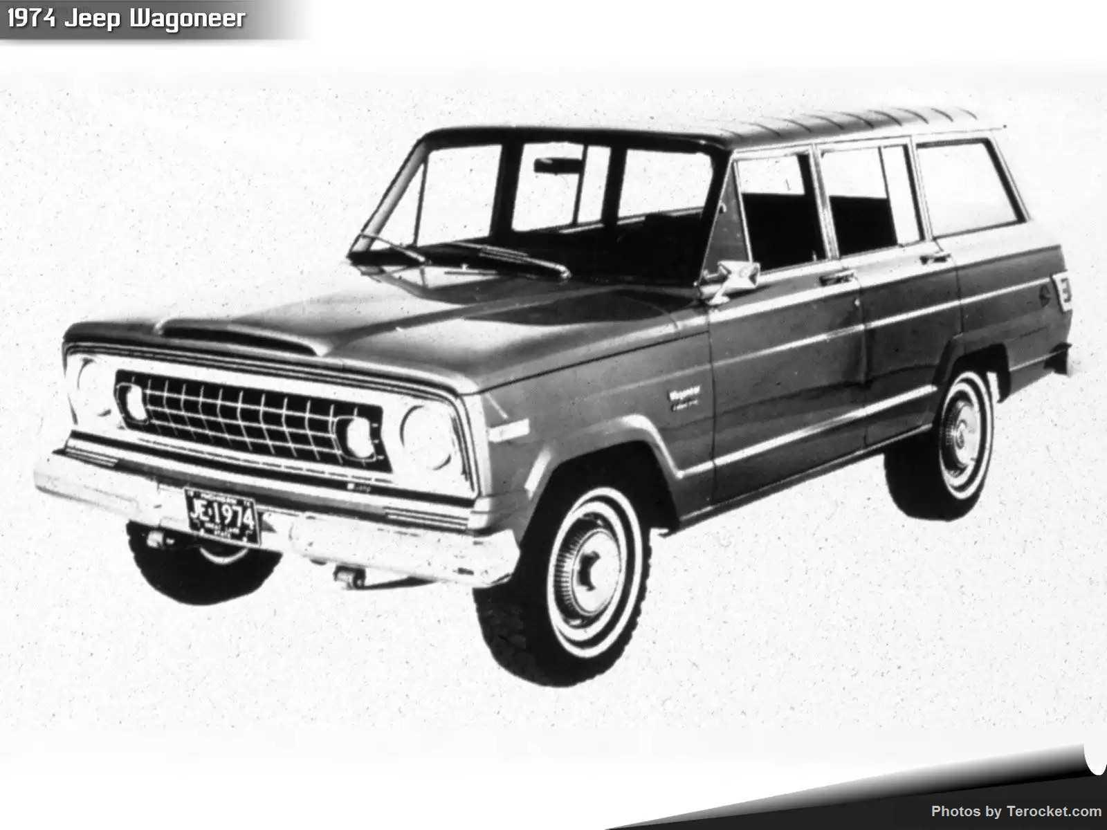 Hình ảnh xe ô tô Jeep Wagoneer 1974 & nội ngoại thất