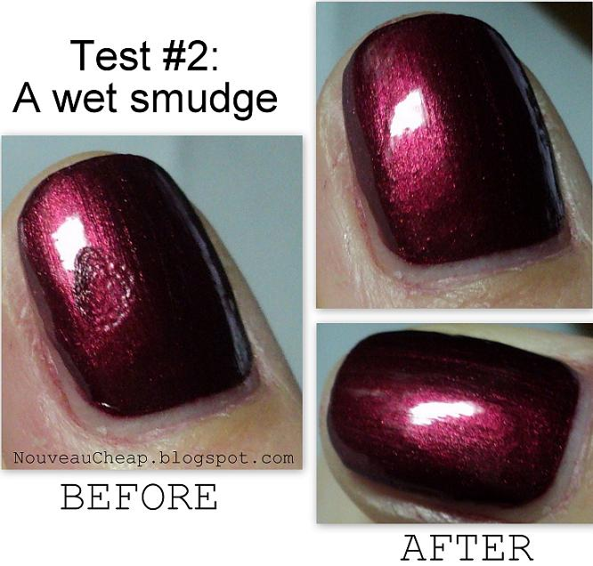 Review: New Nutra Nail Instant Smudge Repair And Speed Dry