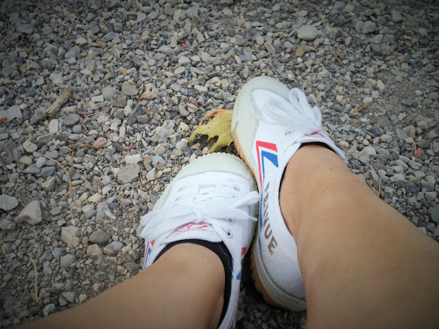 Feiyue Kung Fu gym shoes in white || Funky Jungle, style blog