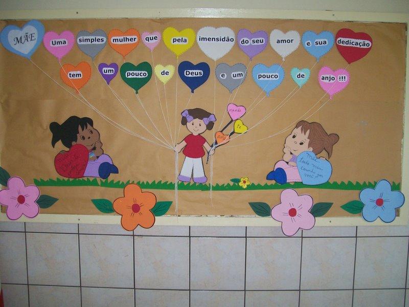 decoracao de sala infantil escola dominical : decoracao de sala infantil escola dominical:CANTINHO DOS PROFESSORES – EBD: PRENDEDORES E MURAL DA MAMÃE