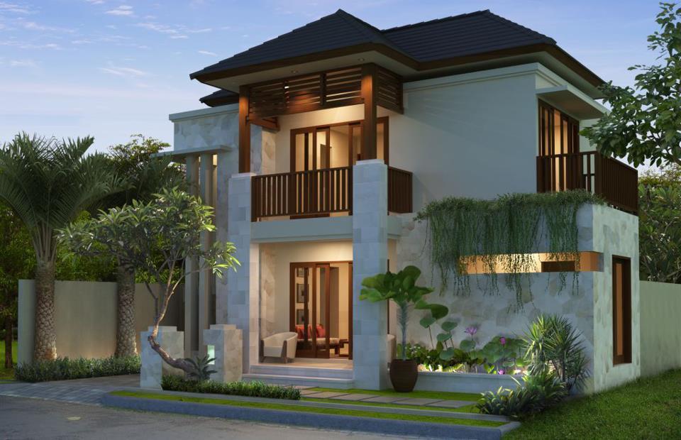 rumah minimalis modern 2 lantai di lahan sempit kumpulan