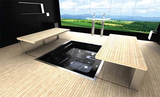 Imagenes De Baños Del Futuro:Impresionante baño futurista – Diseño y decoración interior