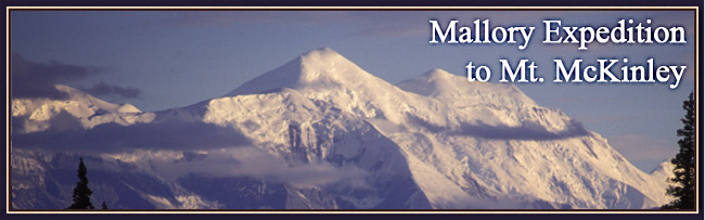 Mallory Expedition to Mt. McKinley