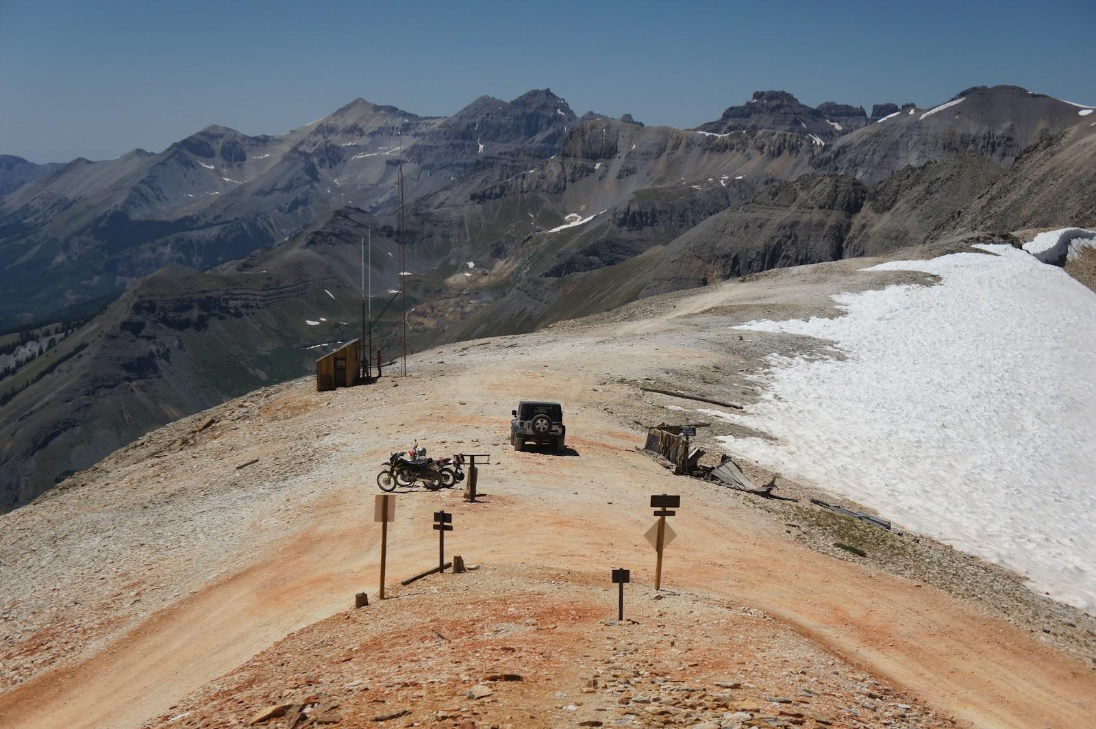 Telluride Daily Photo Imogene Pass Summit