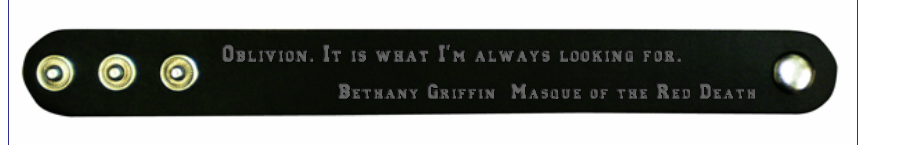 Bethany Griffin Black Bracelet