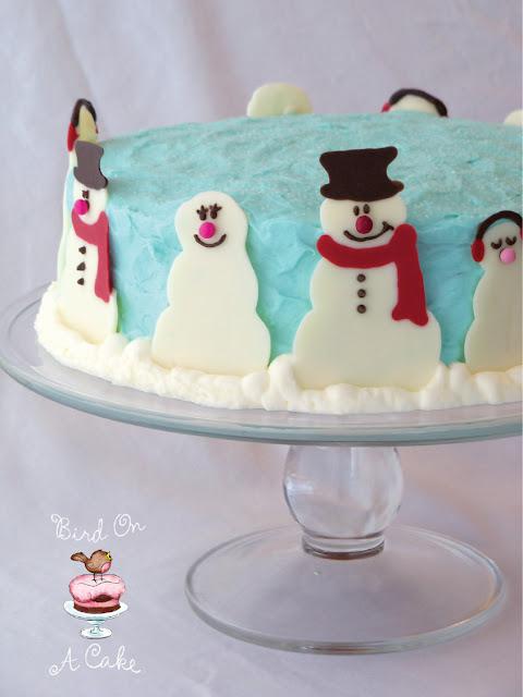 Bird On A Cake December 2011
