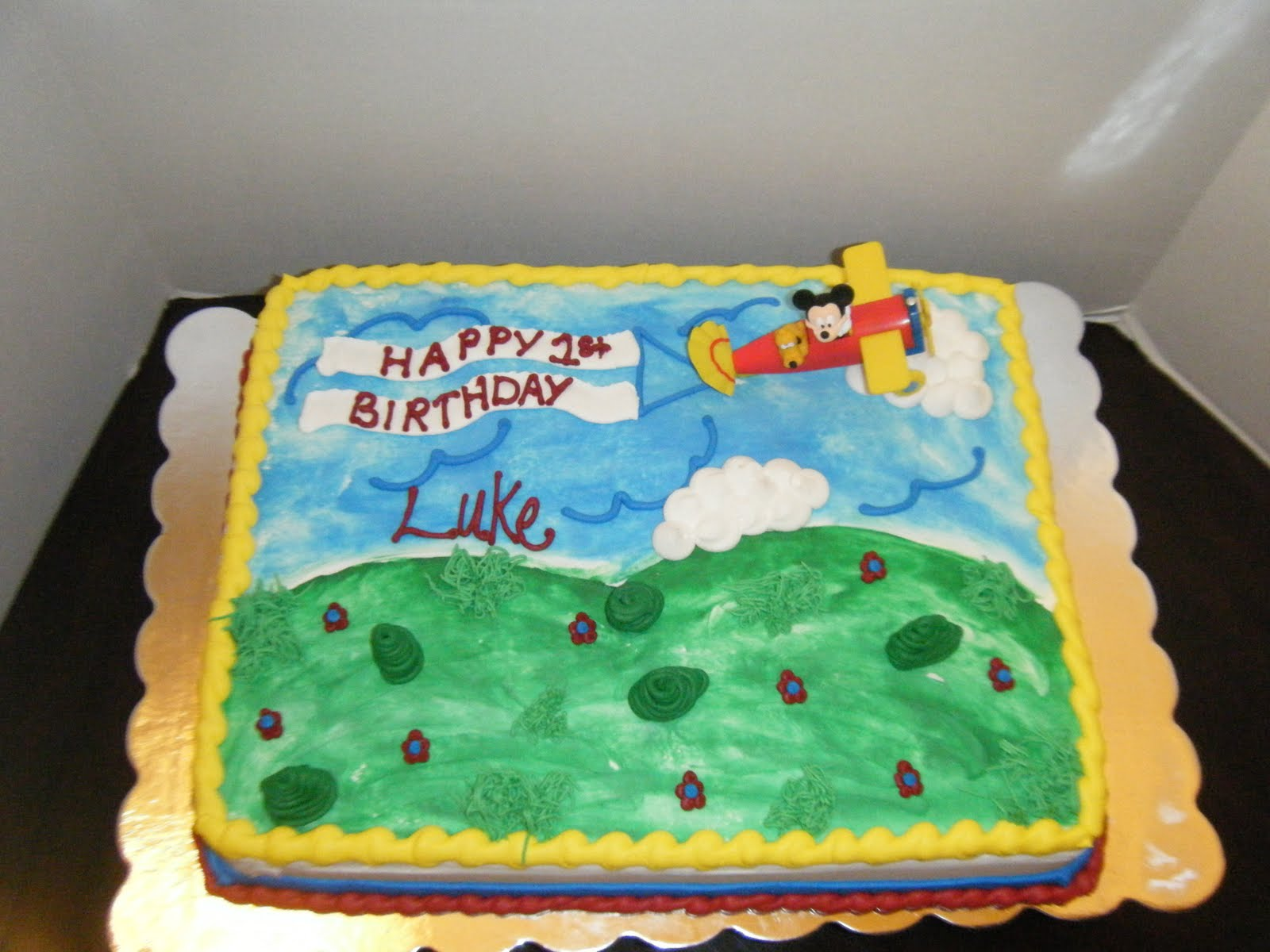 Jessicas Cakealicious Cakes Mickey Mouse