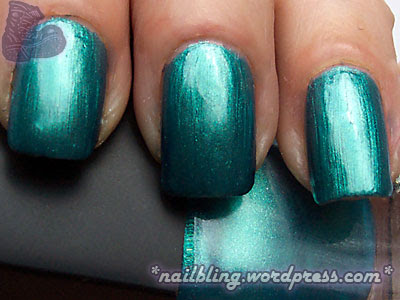 BYS Chrome Green/Blue/Aqua Swatch