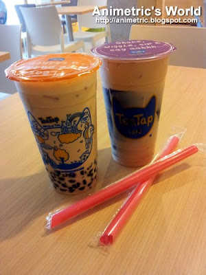 Formosa Roast Black Milk Tea and Grass Jelly Roast Milk Tea