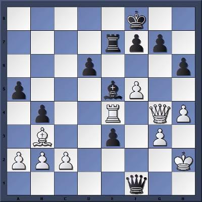 Les Noirs jouent et gagnent en 2 coups