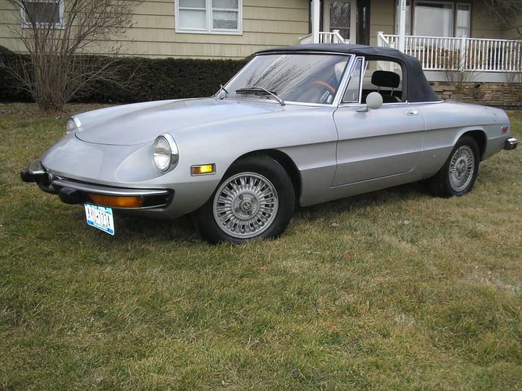 just a car geek: 1974 alfa romeo spider - 36,000 miles and