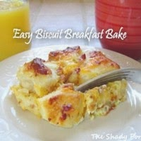 Easy Biscuit Breakfast Bake...  have it your way!