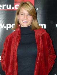 Olenka Zimmerman posando para peru.com