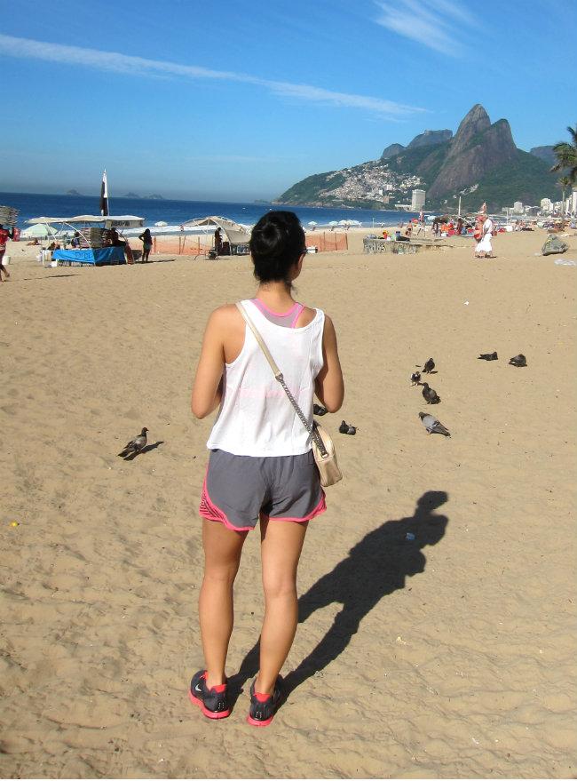 Streetstyle Rio de janeiro - sporty style - tendência desportiva - tennis nike - look desportivo