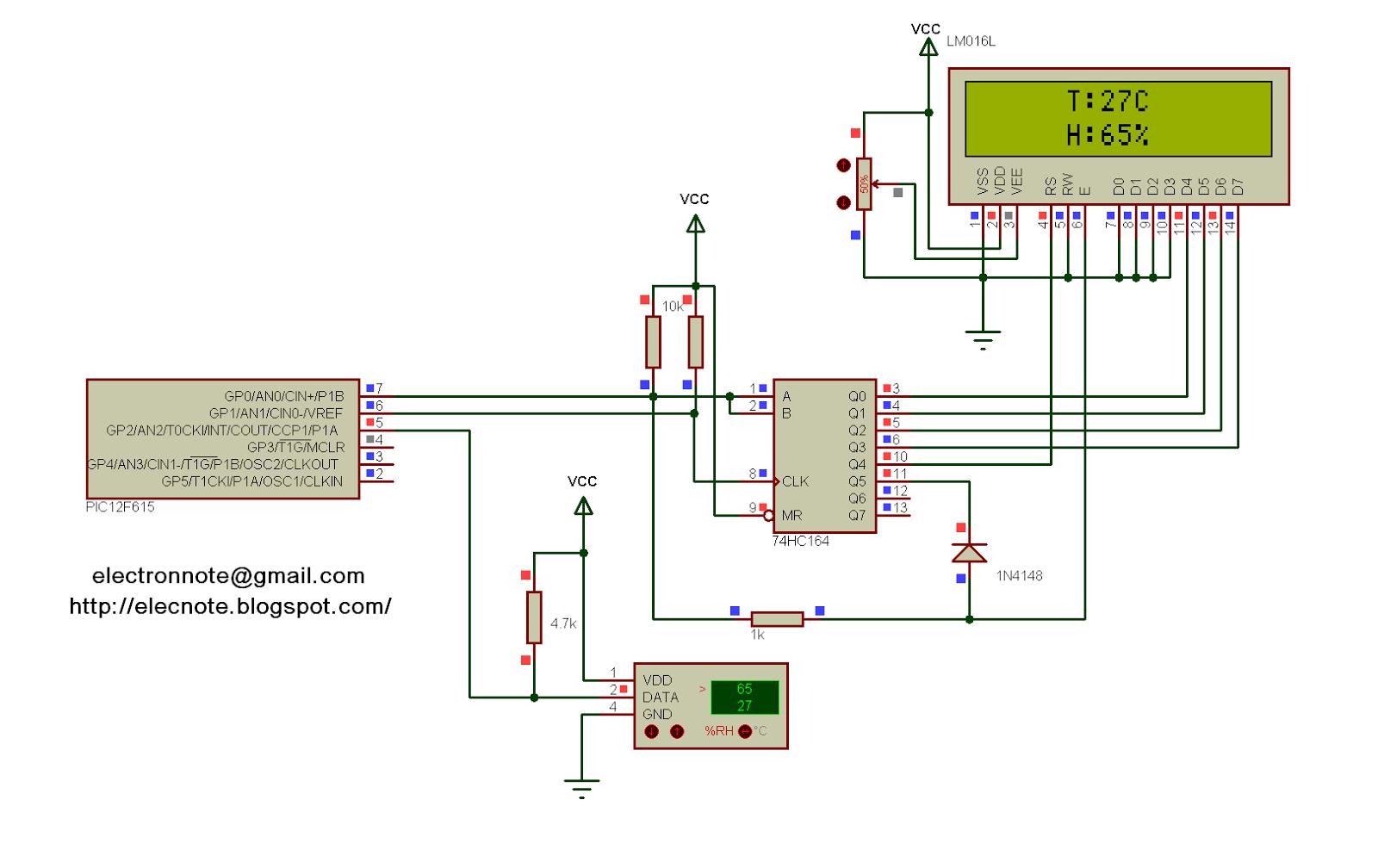 Схемы для pic16f628a микроконтроллеры