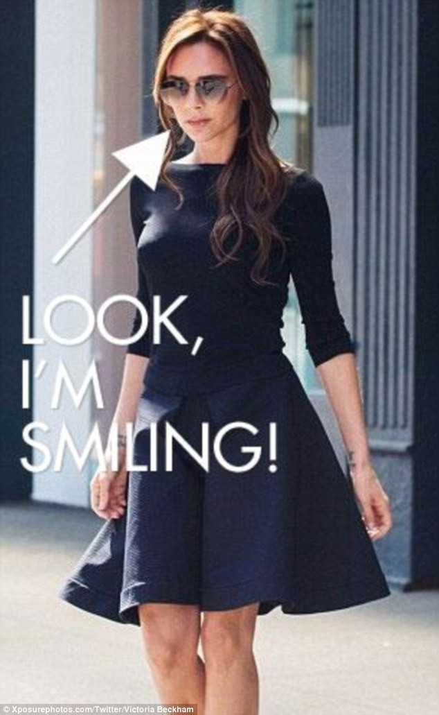 Victoria Beckham New York Being Funny