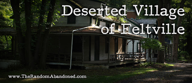 deserted village of feltville abandoned town new jersey random abanoned dylan benson