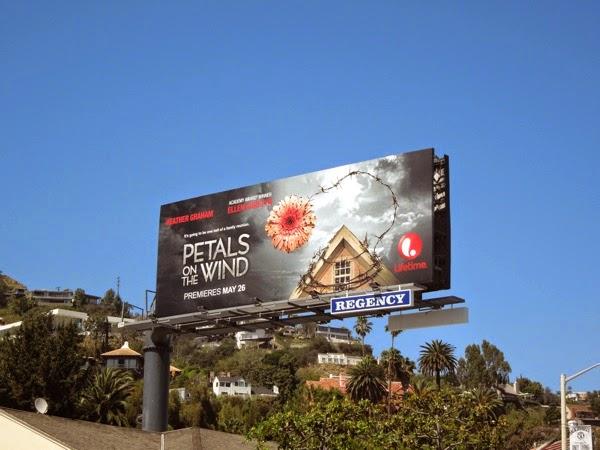 Petals on the Wind TV movie billboard