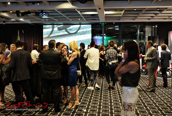 VIP's mingling at the Sydney Italian Festival Launch - Street Fashion Sydney