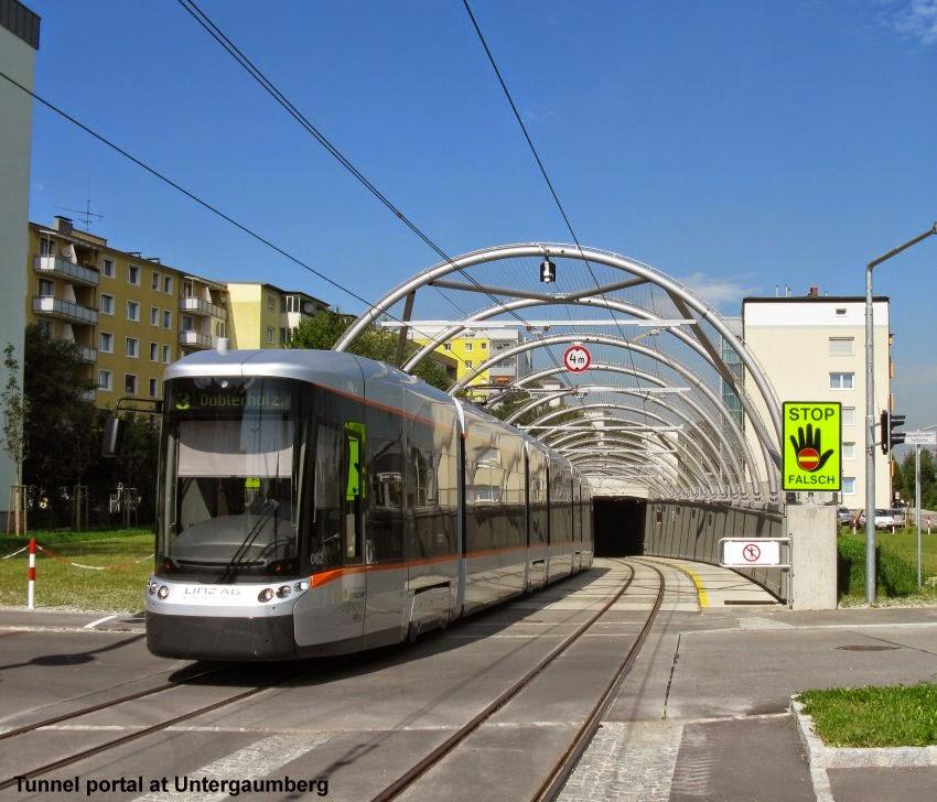 Linz: Robert Schwandl's Urban Rail Blog: LINZ Tram