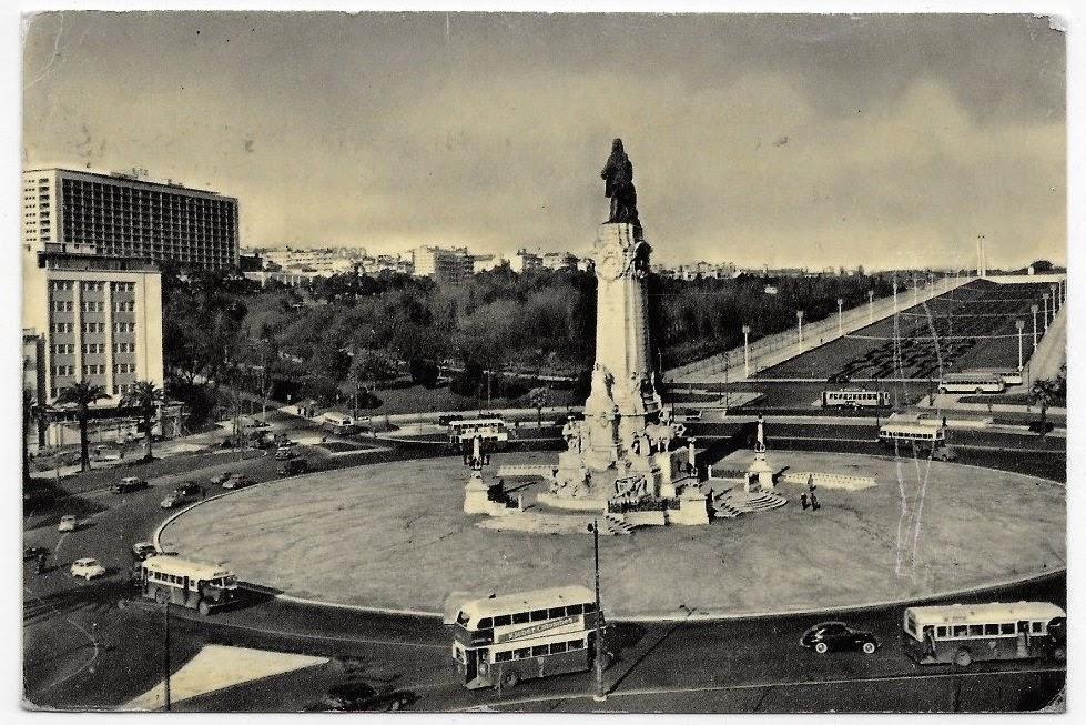 Praça do Marquês de Pombal, década de 60