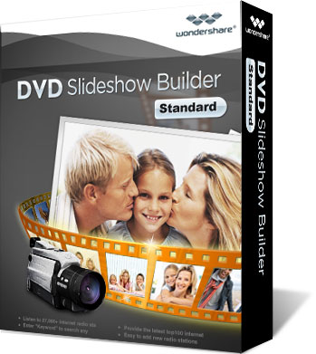DVD Slideshow Builder Standard - Wondershare DVD Slideshow Builder Standard (Kampanya)