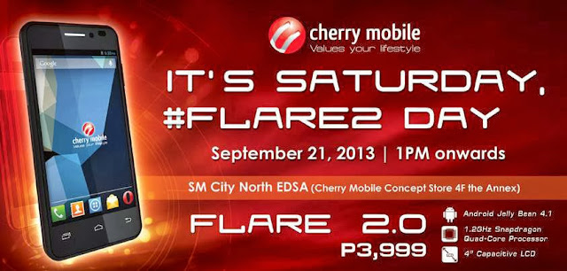 Cherry Mobile Flare 2.0 Day Poster