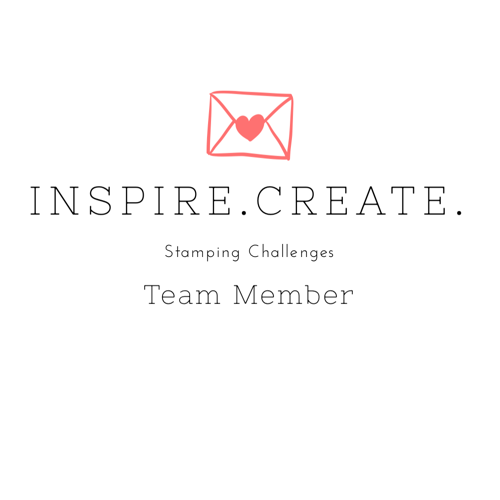 Inspire.Create.Stamping Challenges Design Team Member