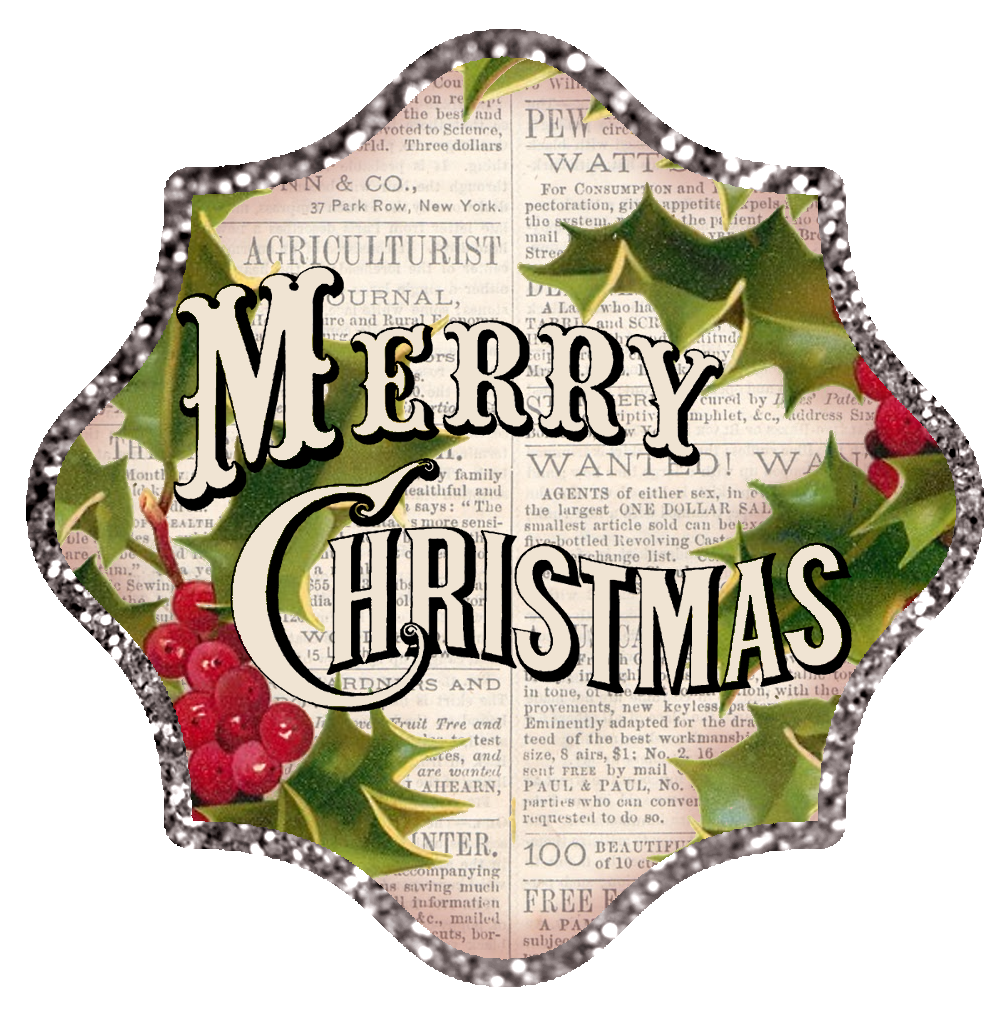 Displaying 18> Images For - Vintage Merry Christmas Clip Art...