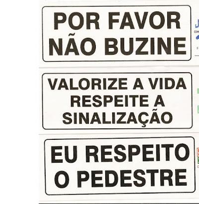 CAMPANHA DO TRANSITO COLABORE FAÇA A SUA PARTE