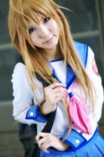 cosplay of Angel Beat's Sekine Shiori