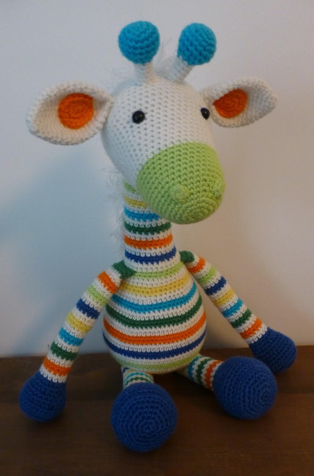 Haakfeest Giraffe Gijs
