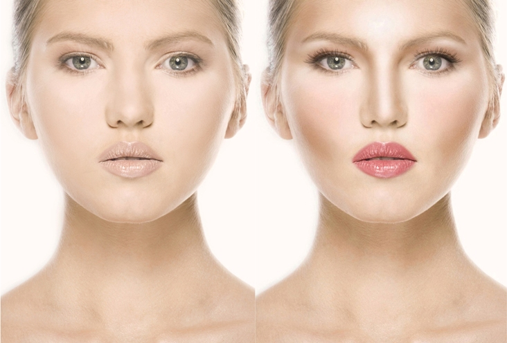 Le teint : vos produits, vos astuces, vos déceptions - Page 5 Contouring-Before-and-After-with-ELES