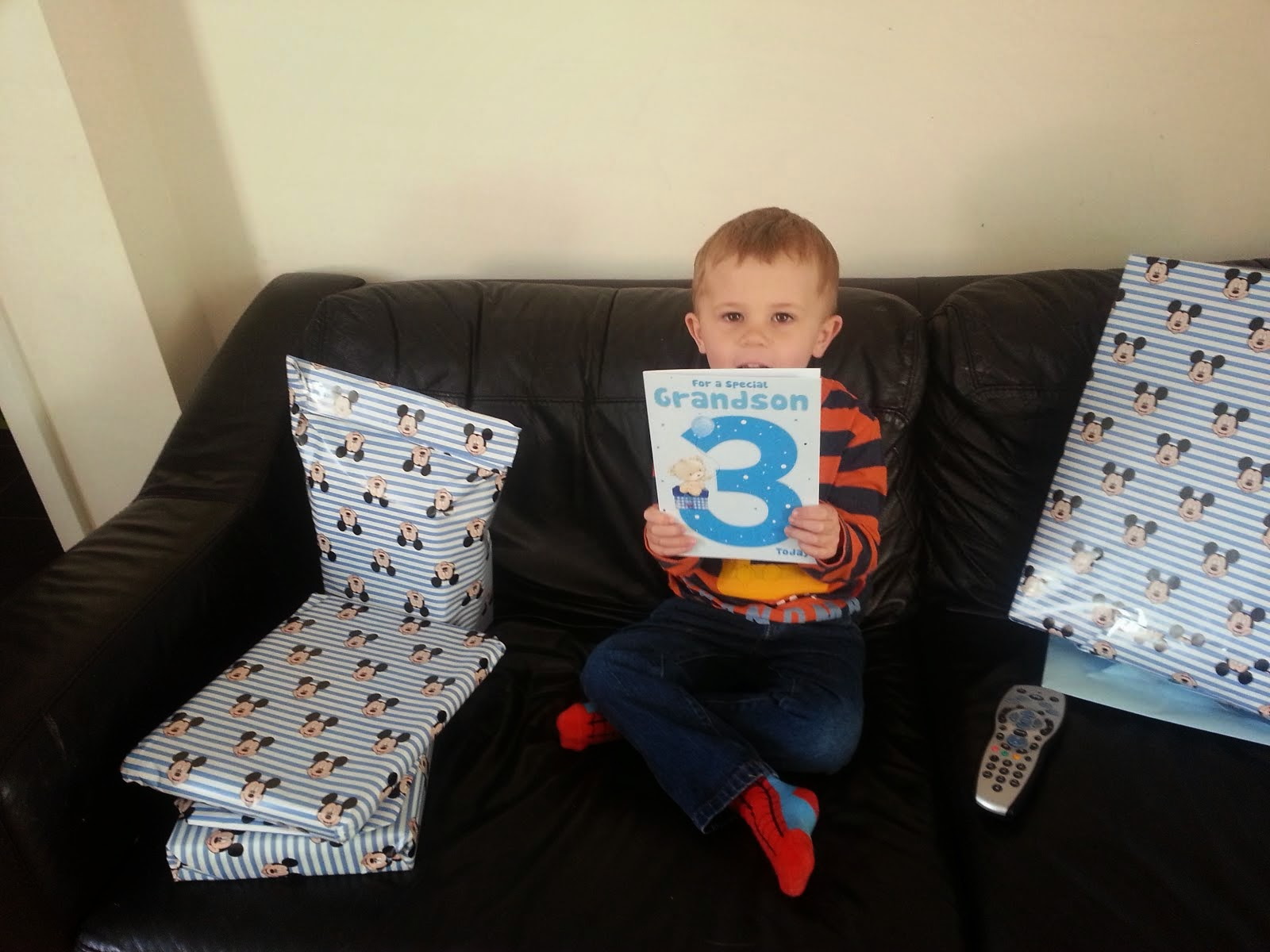 Harry is now 3!!!