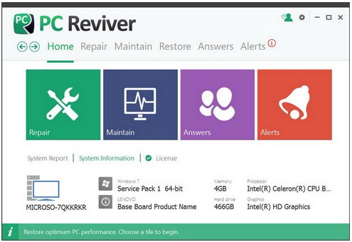 ReviverSoft PC Reviver v2.0.4.26 x86 / x64