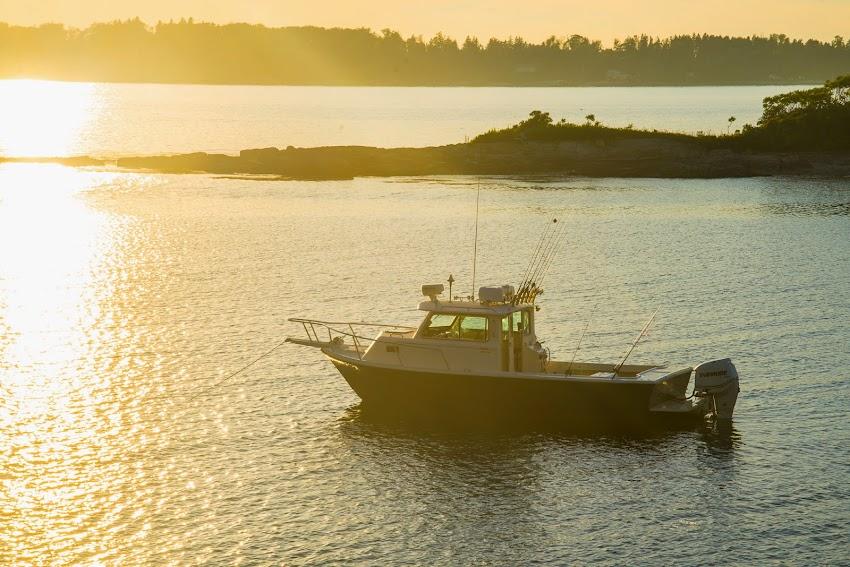 Jewell Island Portland, Maine Casco Bay New England Rita B Boat photo by Corey Templeton August 2014 Summer