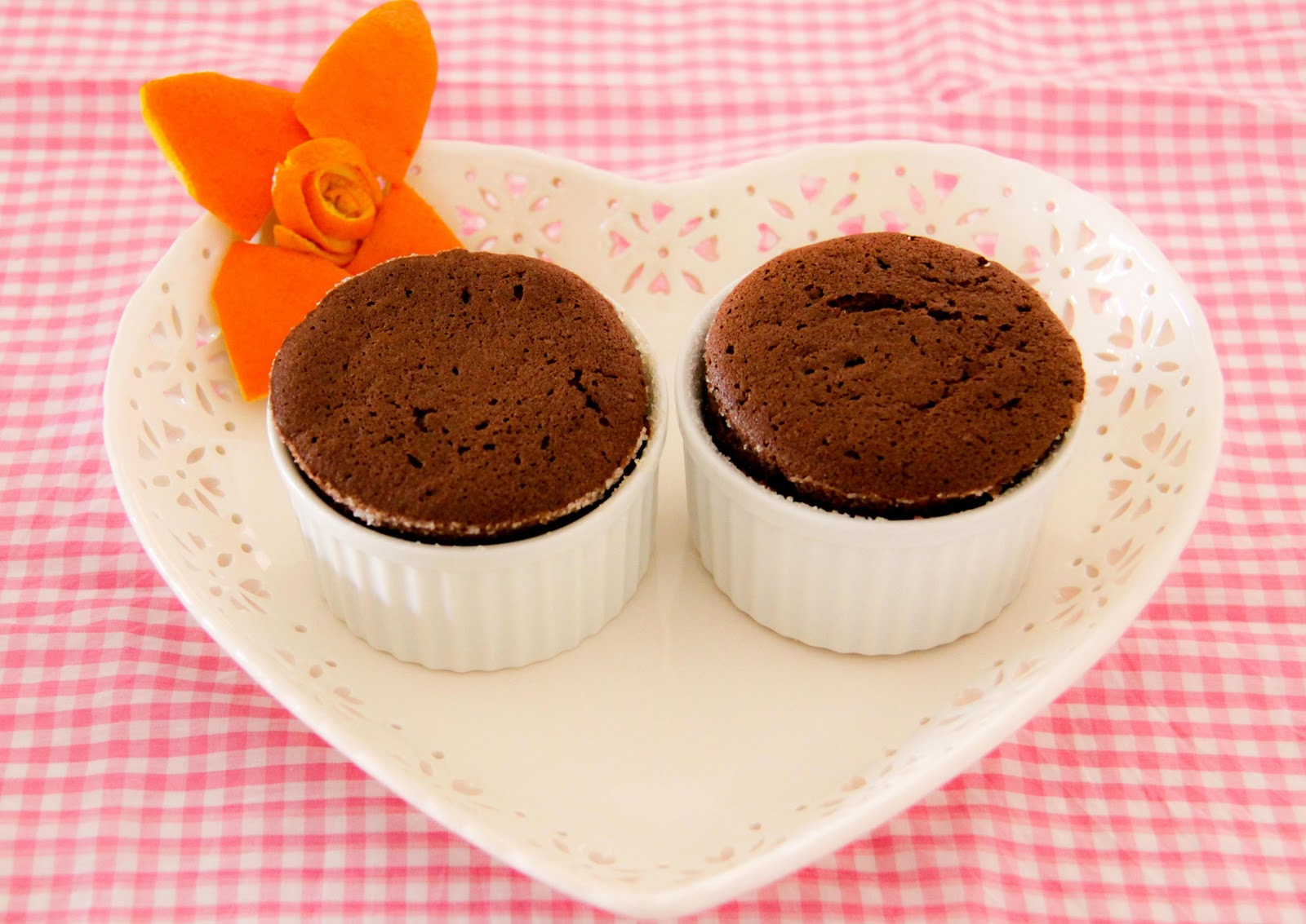 ... : Flourless Chocolate Molten Cake (Perfect for Valentine's Day