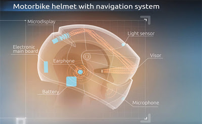 Motor Malaysia Helmet GPS LiveMap Accessories