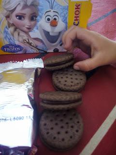 MegaChok con galletas al cacao
