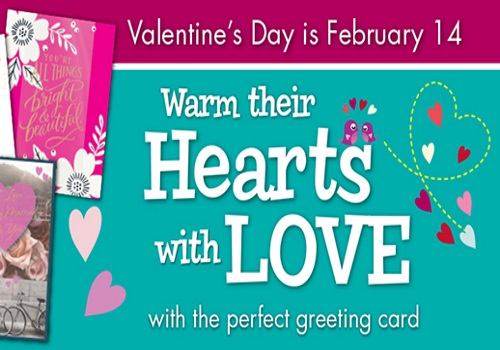Shoppers Drug Mart Valentine's Day Carlton Cards Coupon