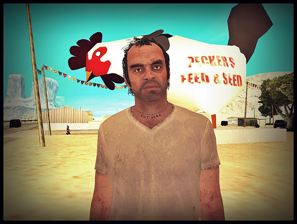 GTA SA - Skin Do Trevor Totalmente Convertido Do GTA V