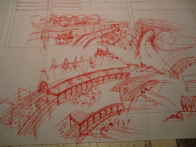 dibujos maqueta ferroviaria